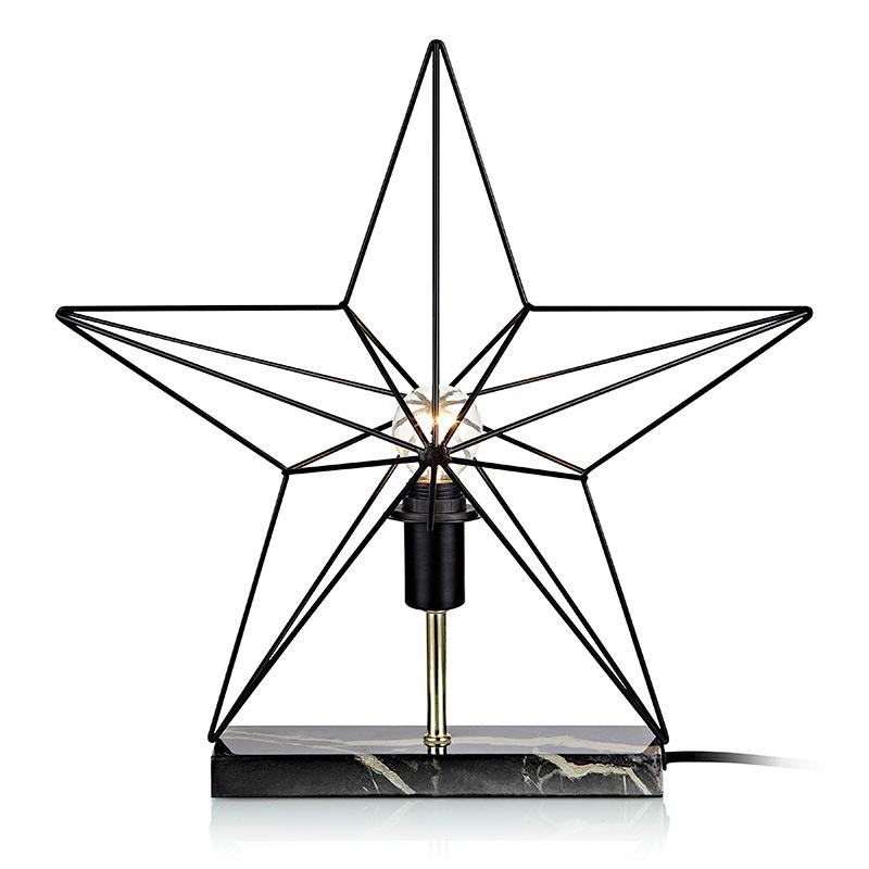 Markslöjd borddekorasjon Klang stjerne